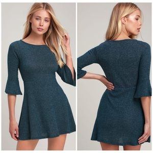 NWT LULUS RIBBED SIZE SMALL SWEATER DRESS 🌸